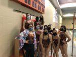 Girls' Swim – Senior Night – 2021