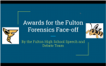 Speech and Debate – Fulton Face-off – 2021