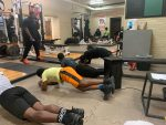 Football – First Day of Weightroom – SPRING 2021