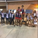 GIRLS AND BOYS TRACK TEAMS TAKE SECOND AT THE AREA TRACK MEET