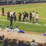 Buffs Basketball Team Gets Recognized At Sugar Land Skeeters Baseball Game
