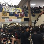 STATE TRACK AND FIELD PEP RALLY AT MARSHALL