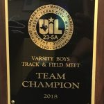 2018 23-5A Track Meet - District  Champions