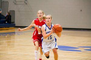 NBC 7th Grade Girls Basketball Pictures Vs Hart on September 29, 2016