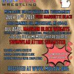 Beach Wrestling Venue Change!