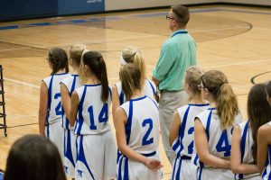 7th Grade Girls Basketball Photos Vs Shelby on September 7, 2017