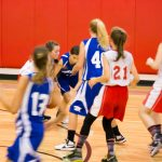 7th Grade Girls Basketball Photos VS Hart on October 3, 2017