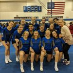 Girls Varsity Competitive Cheer finishes 3rd place at Revenna High School