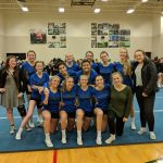 Girls Varsity Competitive Cheer finishes 7th place at GMAA