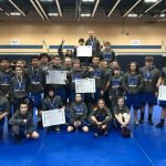 NBC wrestling team finishes in 2nd place at Wildcats Invitational