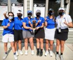MHS Girls Varsity Golf finishes 1st place at GMAA Invitational
