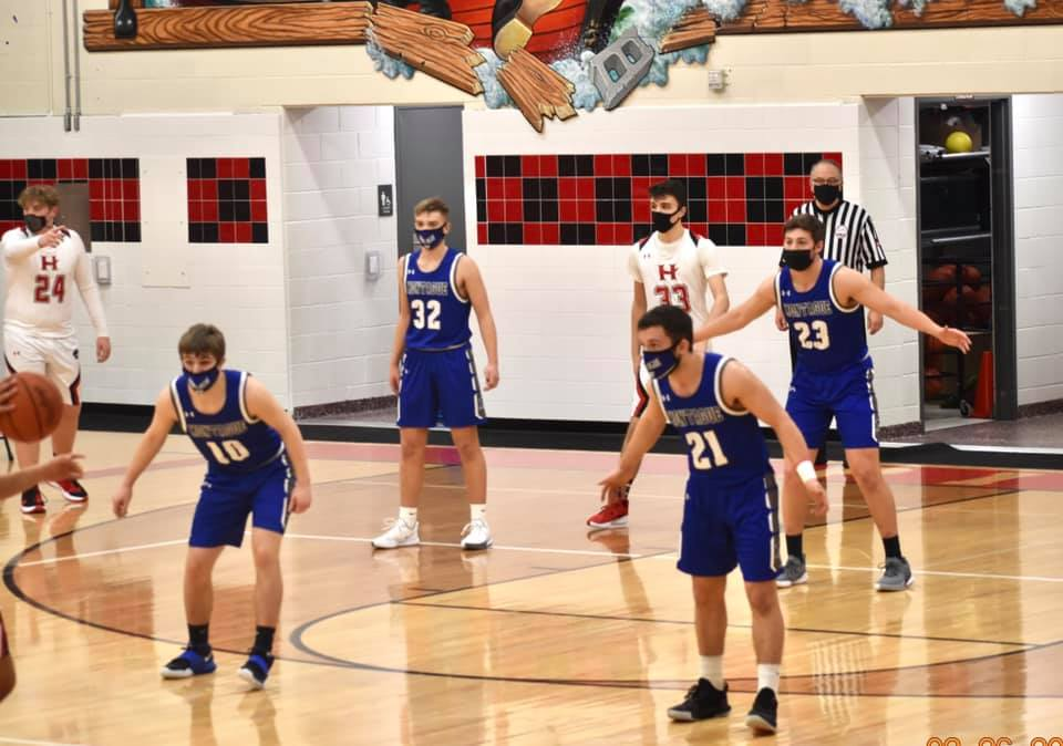 Boys Varsity Basketball at Hart 2-26-21