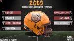 2020 Bruins Football Schedule