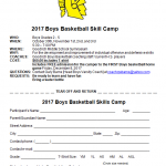 Boys Basketball Skills Camp for 2nd-5th Graders