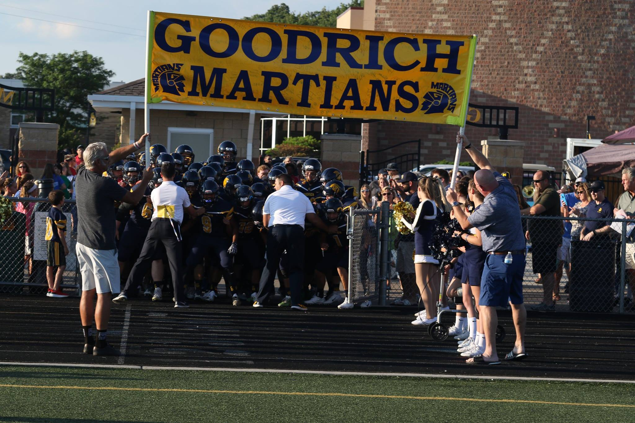 Martians return home to face Notre Dame Prep in Friday Night matchup