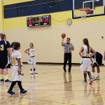 6th grade Goodrich girls basketball falls to Bendle 31 -26