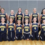 Girls 6th Grade Basketball beats Corunna 40 – 35