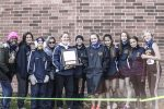 Girls Varsity Cross Country finishes 1st place at Flint Metro League Championship