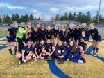 Girls Varsity Soccer beats Brandon 3 – 0 for the County Line Cup