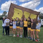 Girls Cross Country wins District Championship