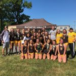 Girls Cross Country Team Wins the Baron Blast