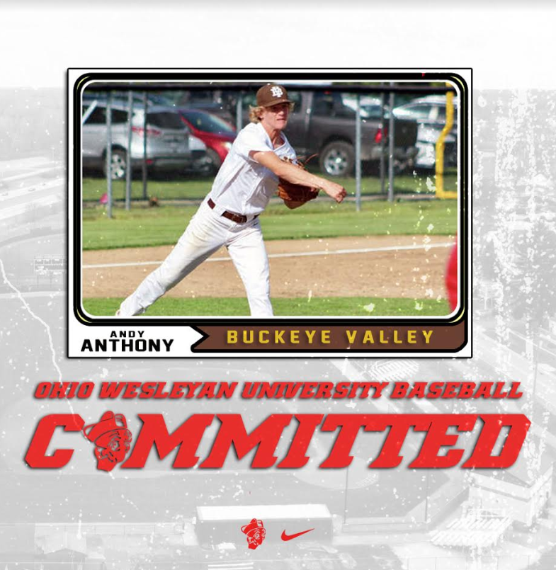 Andy Anthony – Buckeye Valley to Ohio Wesleyan Unviersity