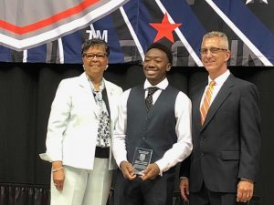 Quincy Monday Recognized by the NCHSAA