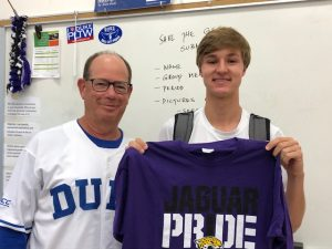 Nick Osborne, Jaguar Pride Athlete for August 2019