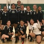 Playoff Bound = Girl's Volleyball Team