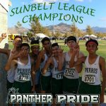 Panther Boy's Cross Country Win Sunbelt League Title.