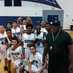 Perris Panther Boys Basketball Team Beat San Jacinto High School