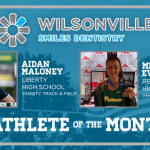 And the June Athlete of the Month is….