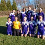 Girls Varsity Soccer beats Constantine 6-3
