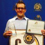 Chase Paulson Wins Character Award