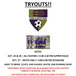 Girls Soccer Tryout