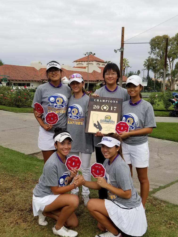 Girls Golf Earns CIF Title