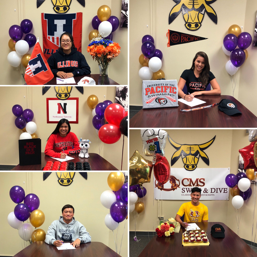 Brahma Student-Athletes on Early Signing Day