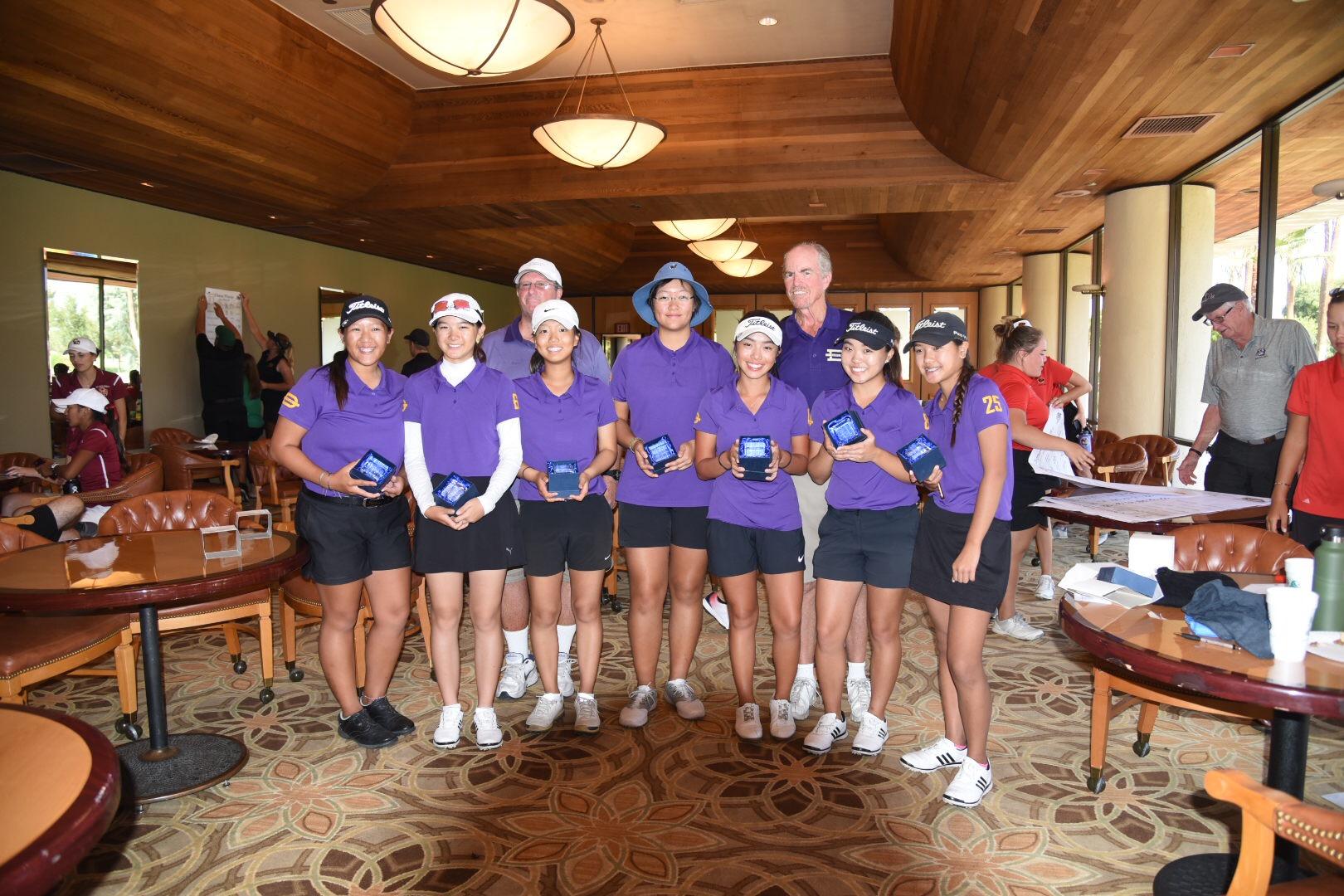 Girls Golf Team Wins Chappy Wheeler Memorial Tournament