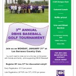3rd Annual Baseball Golf Tournament
