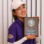 Freshman Ella Chiu Individuals JV Golf Champion