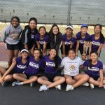 Girls Tennis Competes In CIF 1st Match
