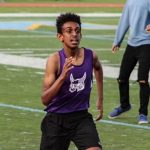 Lukas Amare Sets School Mile Record (4:23)