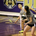 Badminton Team Competes In CIF