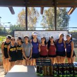 Girls Tennis Team Finishes League Season