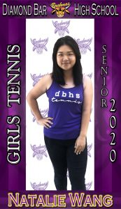 Senior Varsity Tennis Player Banners