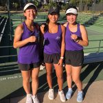 Tennis Players Finish First In League