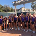 Girls Tennis Wins 1st Round CIF Match