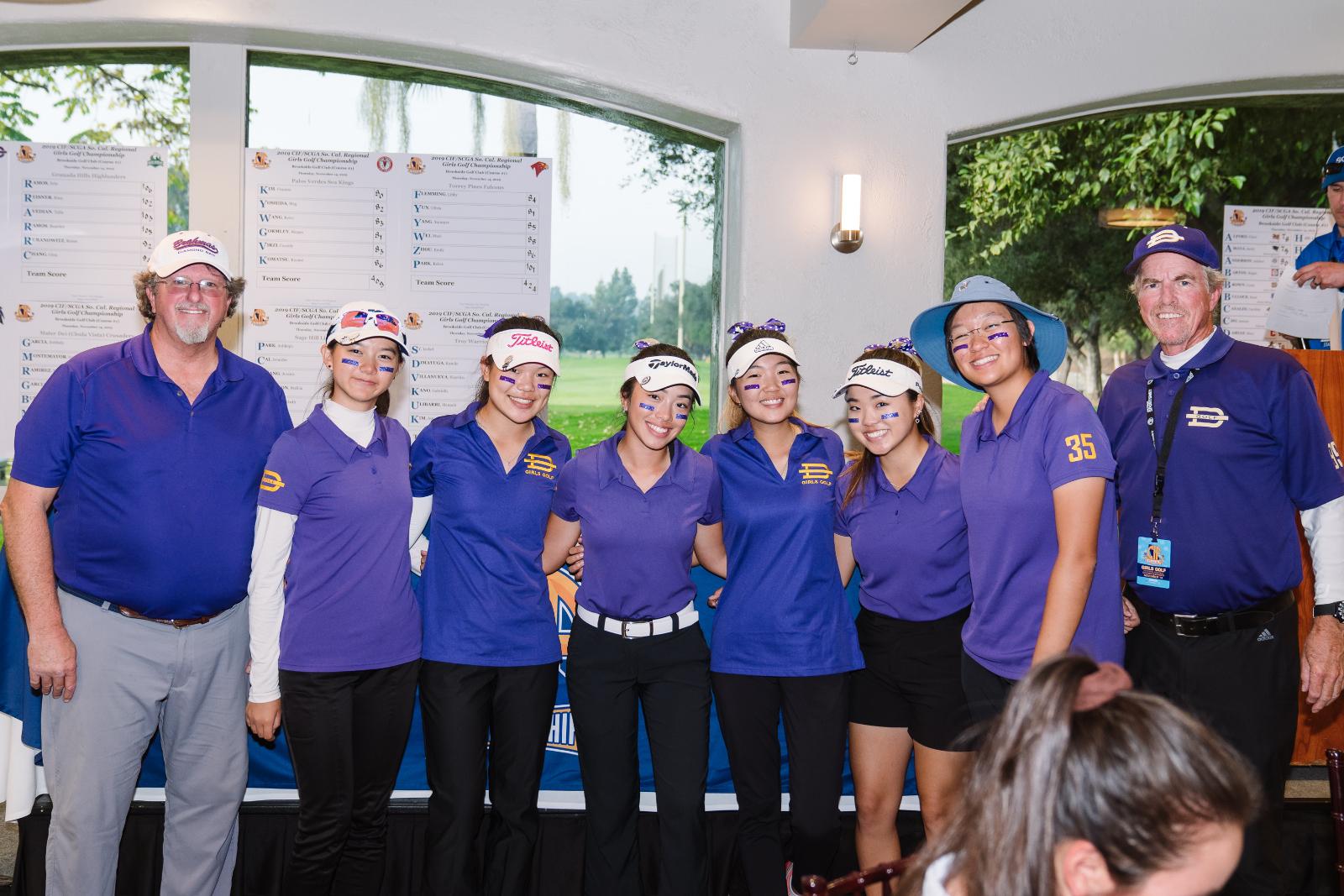 Girls Golf Advances To State Championships