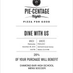 Boys Soccer Fundraiser at Pieology this Wednesday from 12-8pm