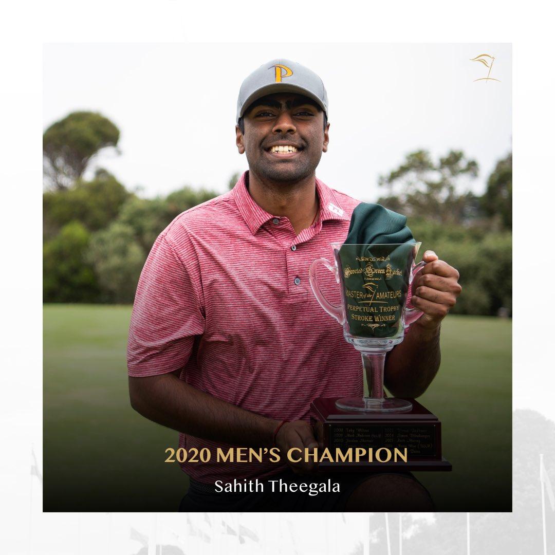 Sahith Theegala (c/o 2015) Wins Australian Tournament